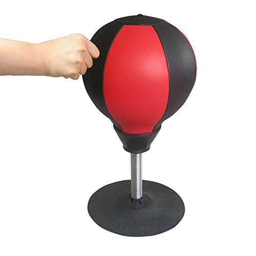 EARLYBIRD SAVINGS desktop mini Punching ball rilassamento Punching ball per antistress corredato di gonfiaggio