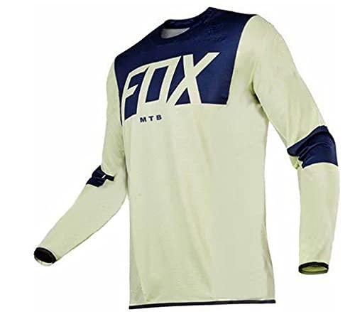 2021 Men's Motocross Jersey Camiseta MTB Enduro Long Sleeve Cycling Jersey Foxmtb Downhill Shirt Fxr Mx Dh Road Bicycle Tops Man-S