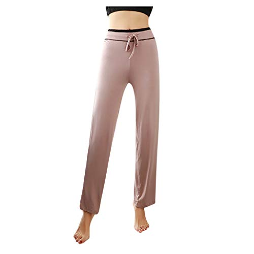 Find Discount ANJUNIE Women Yoga Leggings Pants High Waist Trouser Sports Lounge Slim Outwork Pant(K...
