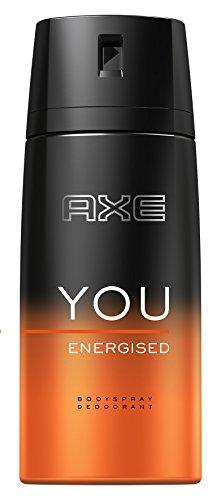 Axe Deospray You Energised ohne Aluminium, 6er Pack (6 x 150 ml)