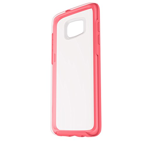 OtterBox Symmetry Clear Series Case for Samsung Galaxy S7 Edge - Retail Packaging - Pink Crystal (Clear/Candy Pink)