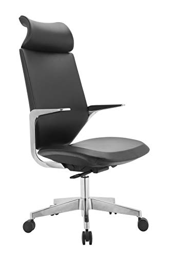INNOWIN ® Parker High Back PU Leatherette Office Chair (Black)