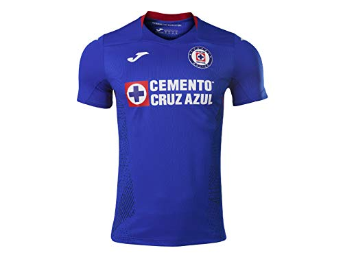 Joma 2020/2021 Authentic Cruz Azul Match Jersey (Royal, Large)