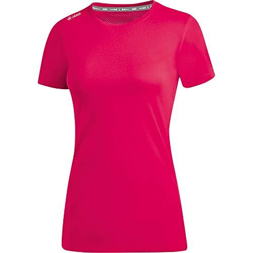JAKO Damen T-shirt Run 2.0, pink, 40, 6175