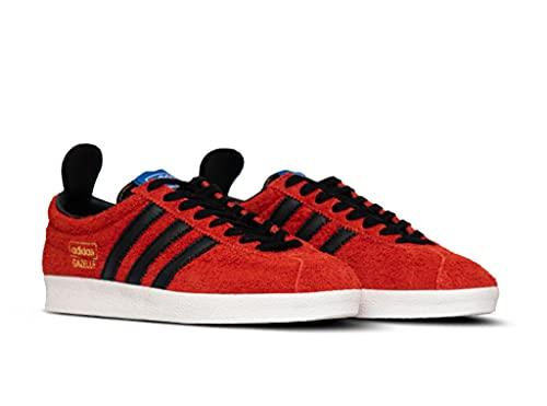 adidas Gazelle Vintage, Zapatillas Deportivas Hombre, True Orange Core Black Blue, 43 1/3 EU