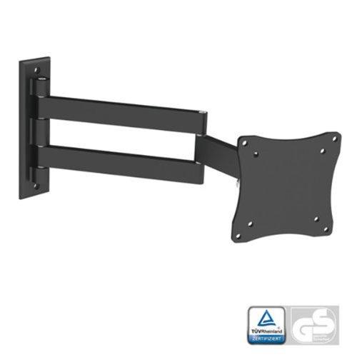 Black Full-Motion Tilt/Swivel Wall Mount Bracket for ASUS MG279Q 27' inch LED Monitor - Articulating/Tilting/Swiveling