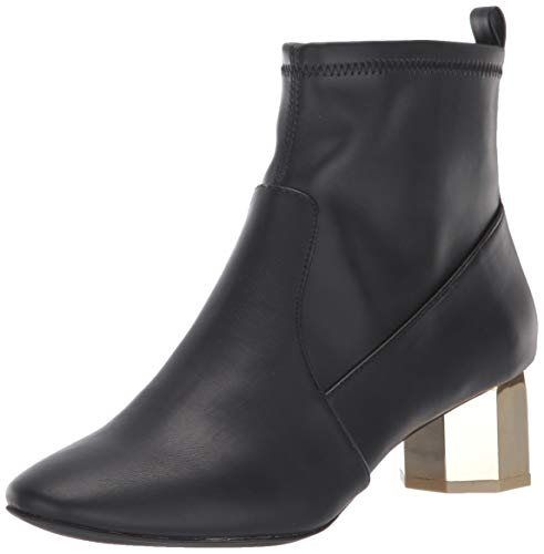Katy Perry Women's The Daina Ankle Boot, Black, 9.5 M Medium US