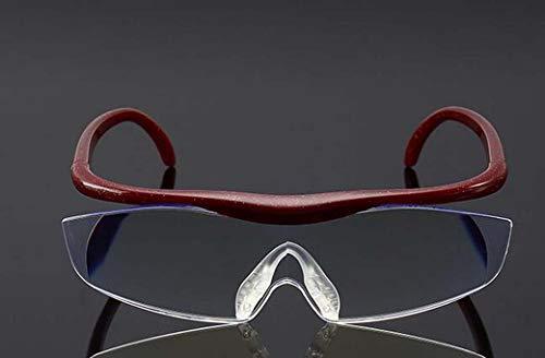 ZTYD Leesbril Vergrootglas, 1.6X Anti-Blauw Geïntegreerd Vergrootglas, Geweldig voor Ouderen, Lezen Kranten, Ambachten en Werkbank