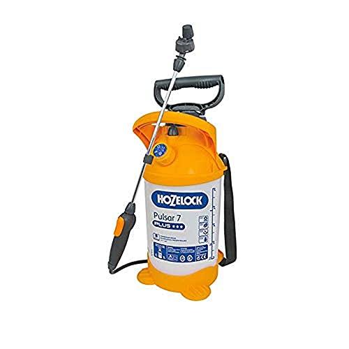 Hozelock Ltd 4311 0000 Pulsar Plus 7 Sprayer (Max Fill 5 Litre) Pressure, Translucent