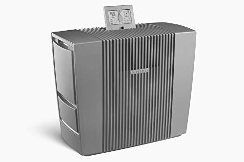 Venta Luftwäscher AW902 Professional, Hygienische Luftbefeuchtung durch Luftwäsche, ohne Filter, ohne Nebel, für Räume bis 120 m², grau