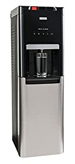 Igloo Stainless Steel Hot, Cold & Room Temperature Ozone Self-Cleaning Water Cooler Dispenser, Holds 3 & 5 Gallon Bottles, No Lift Bottom Loading, Child Safety Lock, Black/Stainless (B08B2878LB) | Amazon price tracker / tracking, Amazon price history charts, Amazon price watches, Amazon price drop alerts