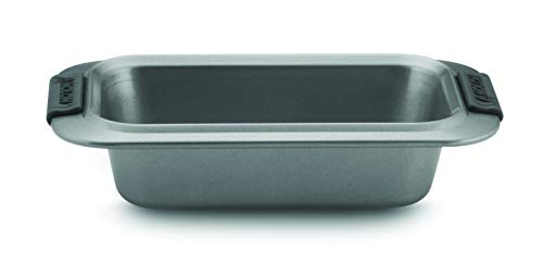 Anolon Advanced Nonstick Bakeware/Baking/Loaf Pan with Grips, 9 Inch x 5 Inch, Gray