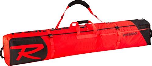 Rossignol Hero 2/3 P 200 - Bolsa de esquí con Ruedas (Talla única), Color Rojo y Negro