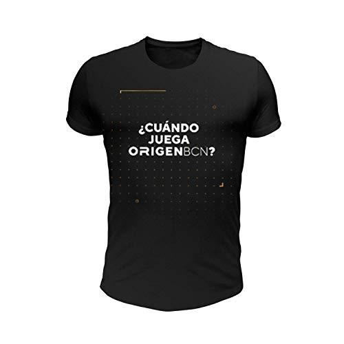 Origen BCN Cuando Camiseta, Hombre