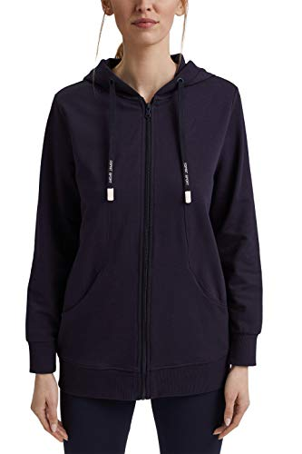 ESPRIT Sports Damen COO Sweat Cardigan, 400/NAVY, M