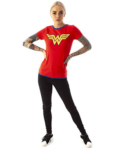 Wonder Woman Metallic Logo Women's T-Shirt (L)