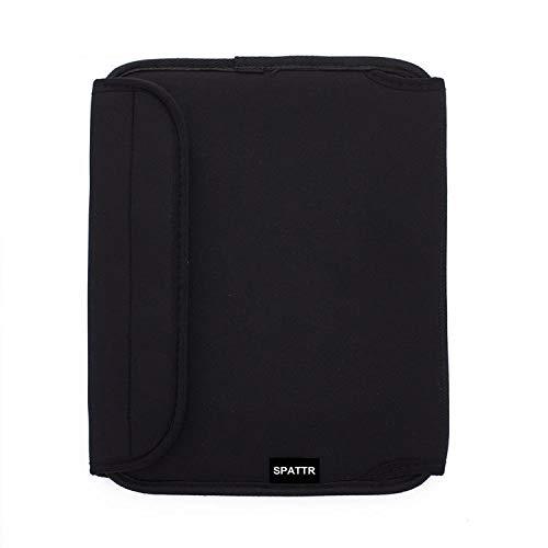 Accesorios portátiles Manga de la bolsa de almacenamiento de tabletas con la bolsa de la bolsa de protección de la bolsa de protección de 10/13 pulgadas para la tableta de la tableta del iPad negro