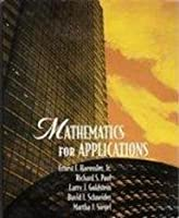 Mathematics for Applications 0536620075 Book Cover
