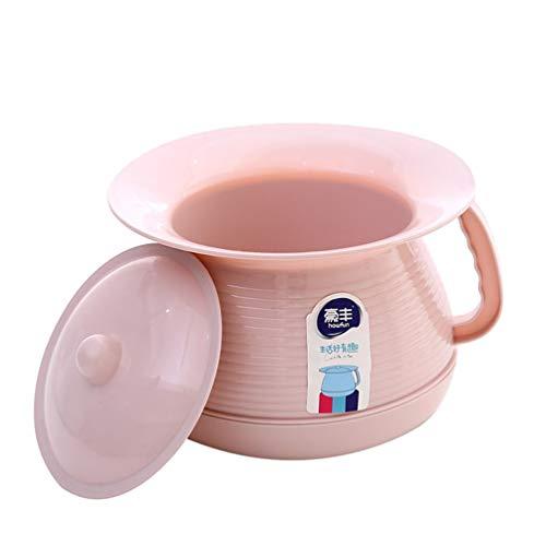 SUPVOX Kids Unisex Urine Bottle Portable Urinal Pee Bucket Car Emergency Toilet Pot for Children Camping Travel Car Home (Pink)