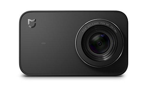 """Xiaomi Mi Action Camera 4K - Cámara Deportiva (graba 4K a 30 fps, Gran Angular de 145°, estabilizador electrónico de 6 Ejes, Pantalla táctil de 2,4\"""", Lente de 7 Elementos, Sensor Sony IMX317), Negro"""