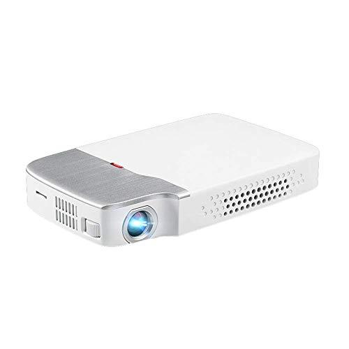 Portátil de pantalla grande del proyector inteligente, Same-Screen WIFI Bluetooth del proyector, la resolución es 1920X1080, brillo es de 150 lúmenes, soporte for 3D, conveniente for el hogar, oficina