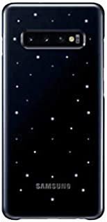 Samsung Galaxy S10+ LED Cover – Official Samsung Galaxy S10+ Case/Protective Case with LED Display and Light Show – Black