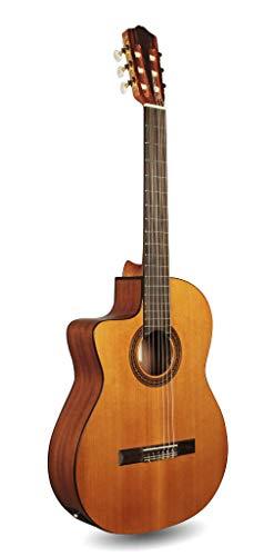 Cordoba c5-ce para zurdos acústica eléctrica (cuerdas de nailon para guitarra clásica