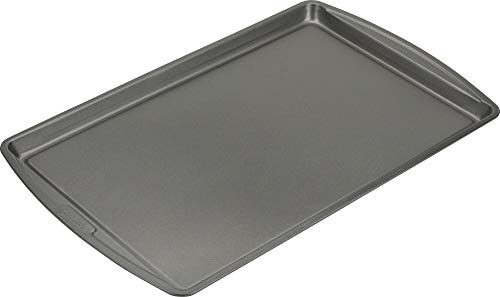 Good Cook 4022 Baking Sheet, 0.9 cu-ft Capacity, 11 in W x 17 in L, Silver
