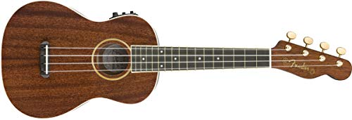 Fender ウクレレ Grace Vanderwaal Signature Uke, Walnut Fingerboard, Natural