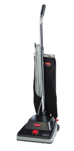 Rubbermaid Commercial 1868437 Executive Series Standard Upright Vacuum Cleaner, 16-inch, Black