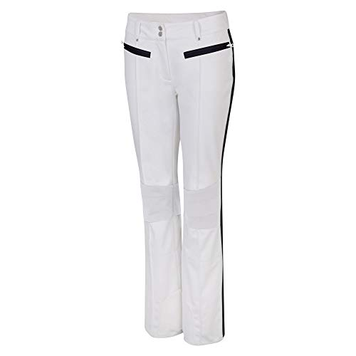 Dare 2b Clarity Pant Waterproof, Breathable & Windproof Ski & Snowboard Softshell Trouser with Intergrated Snow Gaiters Pantalones de esquí, Mujer