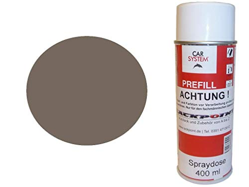 Lackpoint Spraydose 400ml 1 Komponenten Autolack RAL 7006 Beigegrau Matt