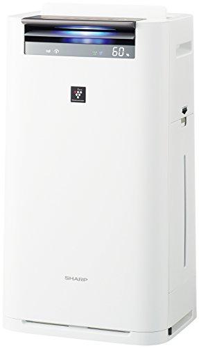 シャープ 加湿 空気清浄機 プラズマクラスター25000搭載 スリム スタンダードタイプ ホワイト KI-JS70-W