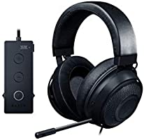 Razer Kraken Tournament Edition THX 7.1 Surround Sound Gaming Headset: Retractable Noise Cancelling Mic - USB DAC - For...