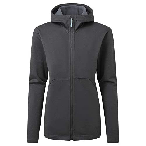 Rab Womens Geon Hoody Stretch Versatile Warm Breathable Active Jacket Zipped Pockets Hood