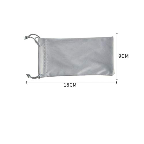 Sunglass Bag Portable Glasses Case Box Frame Storage Pouch with Drawstrings for Unisex