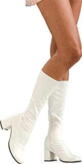 Secret Wishes Go-Go Boots, White
