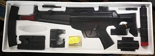 Cm023 Paquete subfusil MP5 para Airsoft, de ABS, semiautomático, automático, eléctrico (0,5 J)
