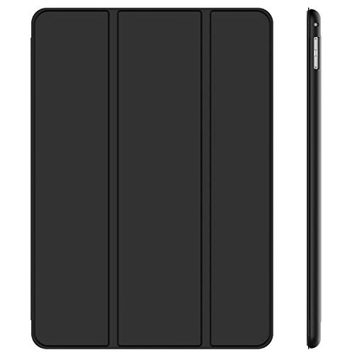 JETech Case for Apple iPad Pro 12.9 Inch (1st and 2nd Generation, 2015 and 2017 Model), Auto Wake/Sleep, Black
