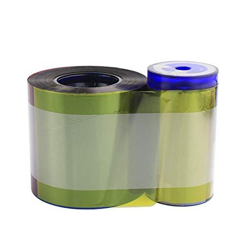 534000-003 YMCKT Farbband kompatibel für Datacard SP35 SP55 SP75 SP35 Plus SP55 Plus SP75 Plus SP75 Plus Kartendrucker, 500 Drucke 534000-003 Farbband
