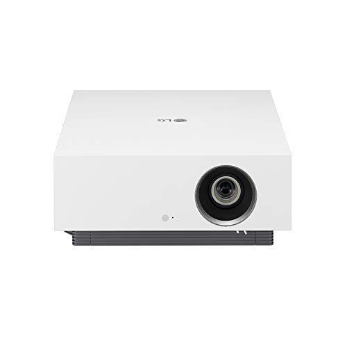 LG HU810PW 4K UHD (3840 x 2160) Smart Dual Laser CineBeam Projector with 97% DCI-P3 and 2700 ANSI Lumens