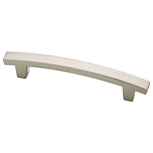 Franklin Brass P29615K-SN-B Pierce Kitchen or Furniture Cabinet Hardware Drawer Handle Pull, 4 inch, Satin Nickel, 10 Pack