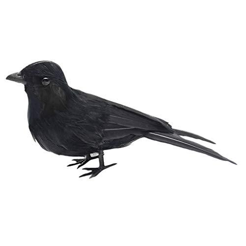 Re Ravens Figurine Crows Birds Halloween Prop Home Garden Ornament