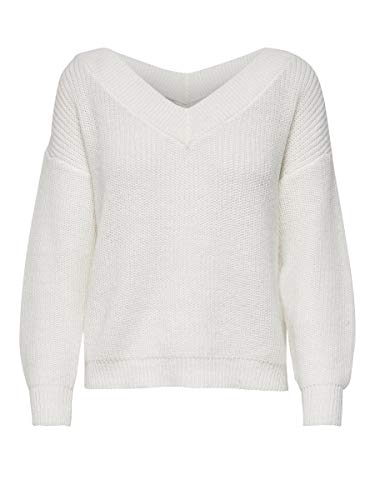 Only NOS 15192289 Pull, Cloud Dancer, 36 (Taille Fabricant: X-Small) Femme
