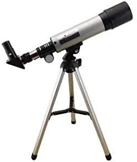Jukusa 90X Zoom Astronomical Land and Sky Refractor Telescope Optical Glass Metal Tube with Tripod