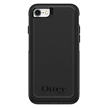 OtterBox Commuter Series Case for iPhone SE  2nd Gen - 2020  & iPhone 8/7  Not Plus  - Frustration Free Packaging - Black