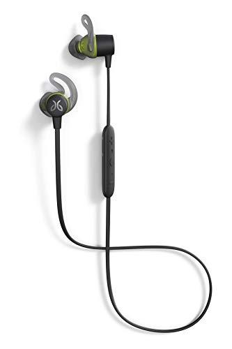Jaybird Tarah Bluetooth Wireless Sport Headphones for Gym Training, Workouts, Fitness and Running Performance: Sweatproof and Waterproof – Black Metallic/Flash (Renewed)