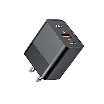 Odec 20W 2 Port Charger Type C Charger with 20W PD3.0