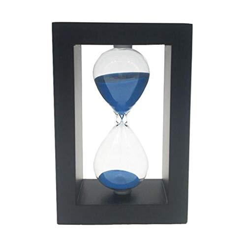 Baoblaze Temporizador de Arena Reloj de Yoga Reloj de Arena Adornos para El Hogar Juguete para Niños Azul