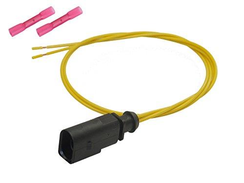 Stecker 2-pol Reparatursatz Stift konfektioniert Elektrik OEM 1J0 973 802 1J0973802